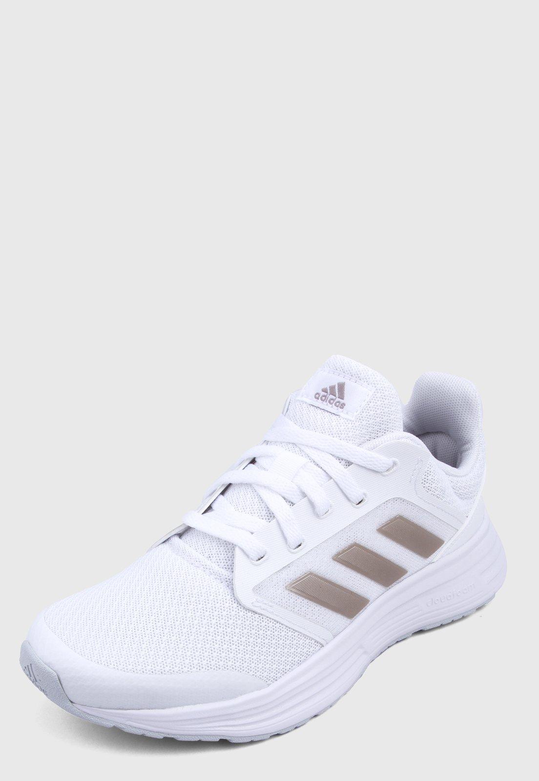 Tenis Running Blanco-Dorado adidas Performance Galaxy 5