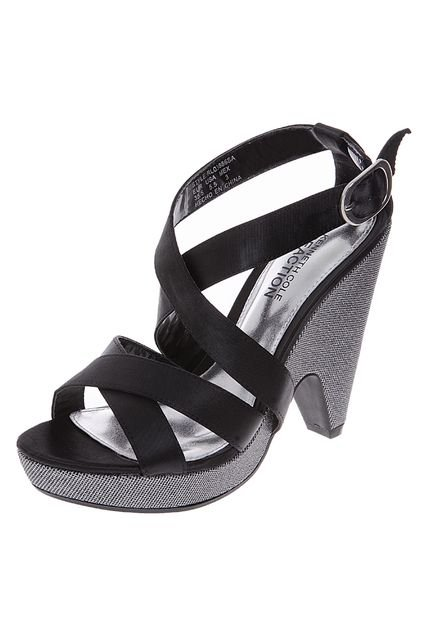 Sandalias Kenneth Cole Lace Of Base Negra de Kenneth Cole